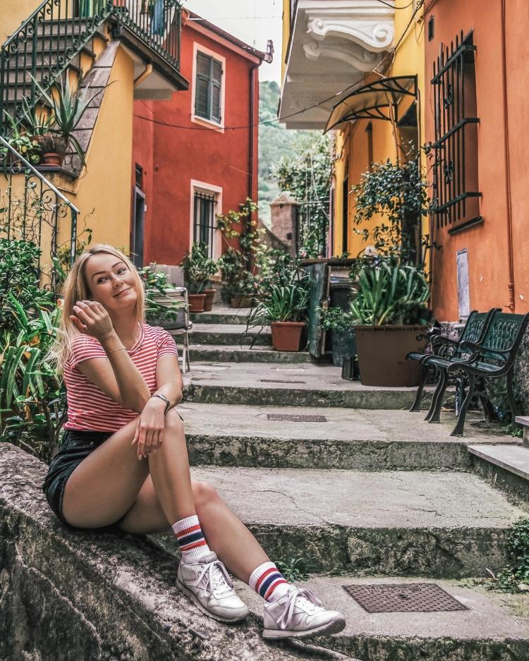 Relaxing in Monterosso al Mare, Cinque Terre, Italy
