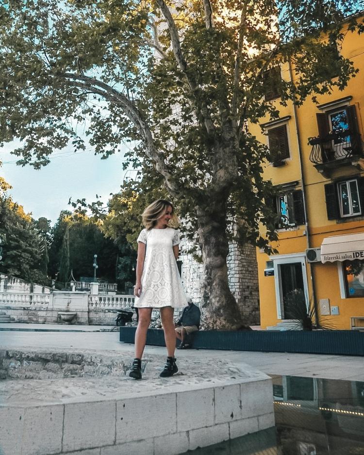 Streets of Zadar in Croatia