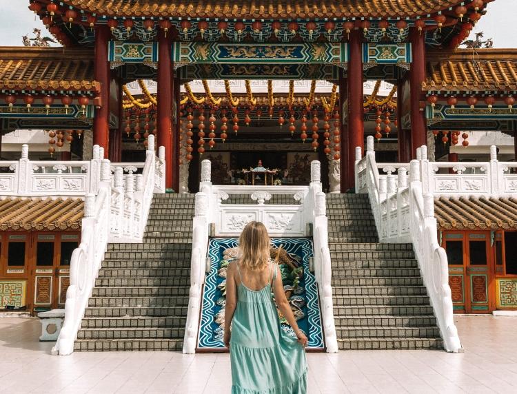 Thean Hou Buddhist Temple, Kuala Lumpur, Malaysia
