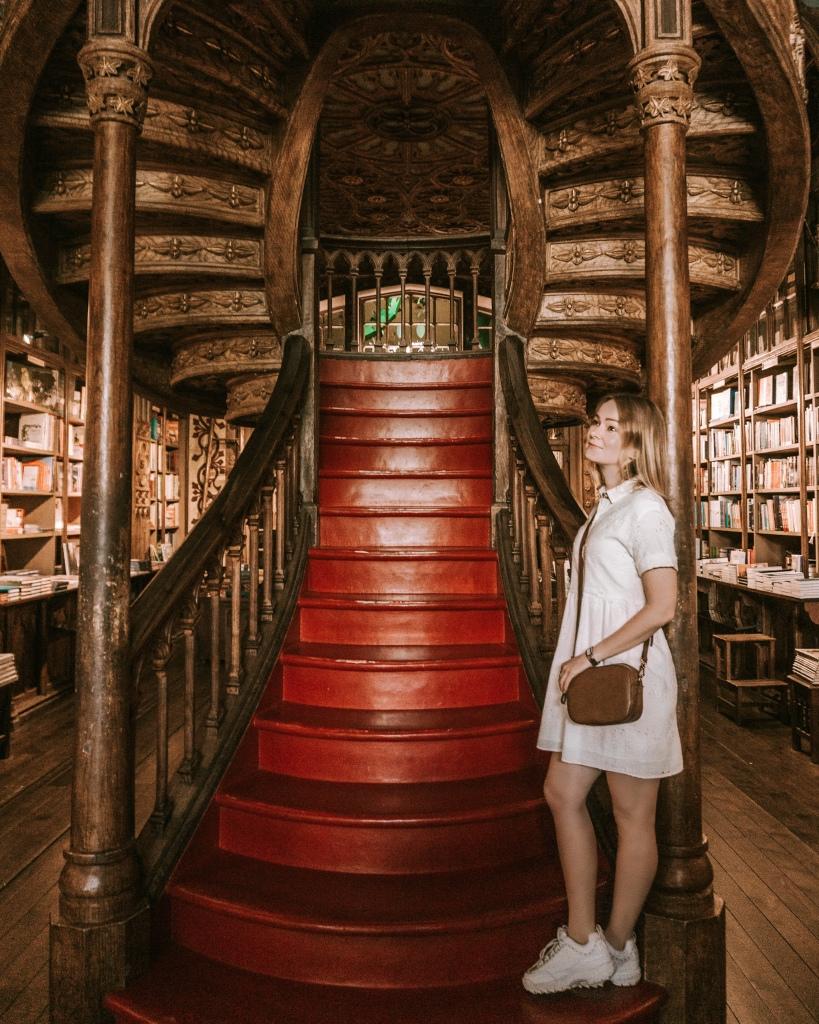 Magical Livraria Lello Bookstore in Porto, Portugal