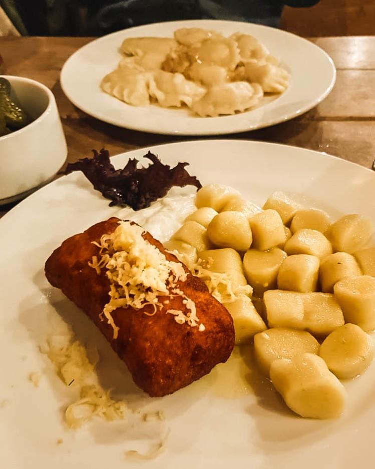 Traditiona Polish food to have in Zakopane in Winter