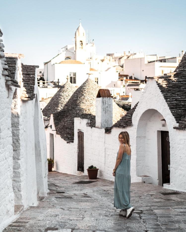 Trulli village in Alberobello in Puglia, Italy