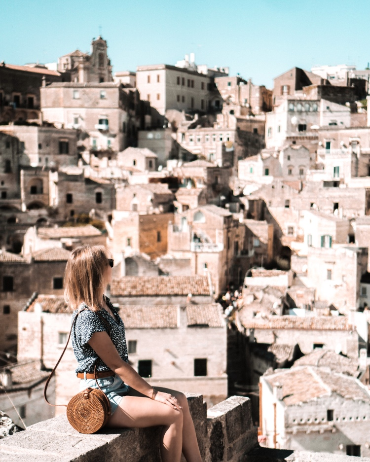 View of Matera, Italy