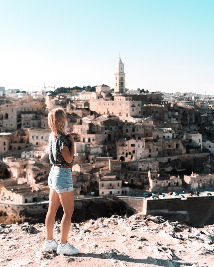 Amazing view of Matera, Italy