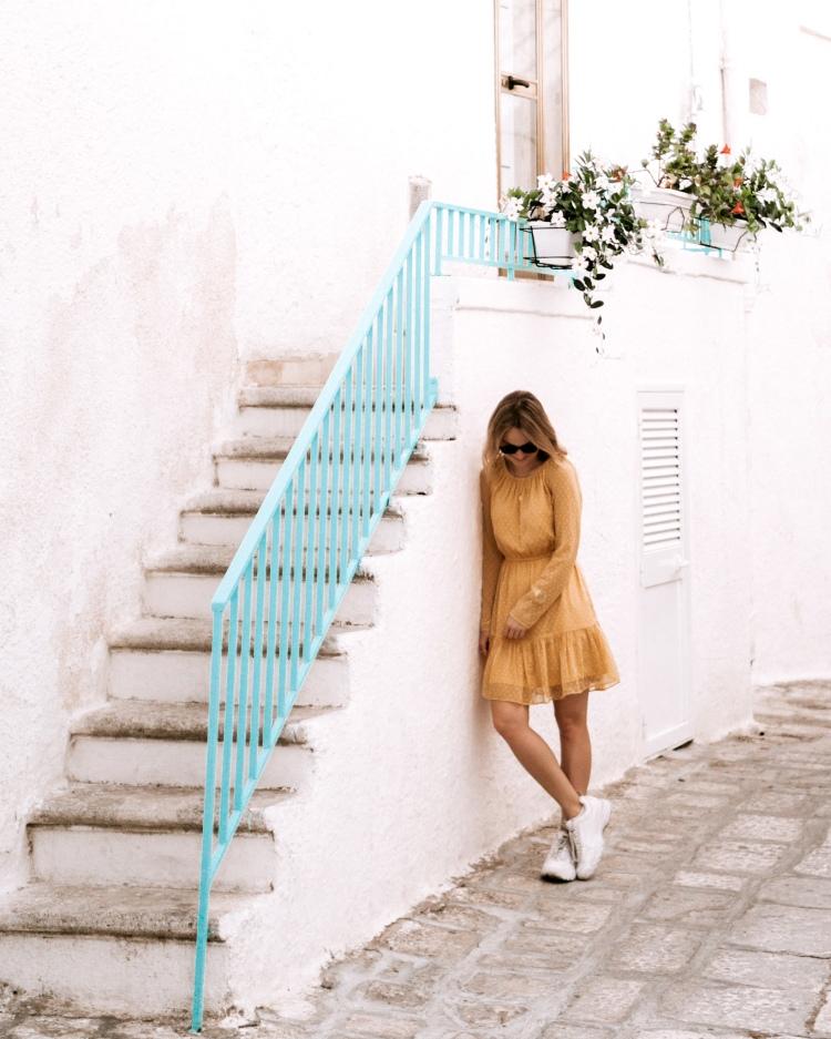 Beautiful Ostuni in Puglia, Italy