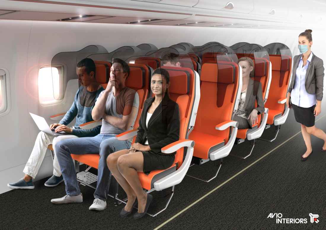 Project Glassafe by Aviointeriors - the future of travel