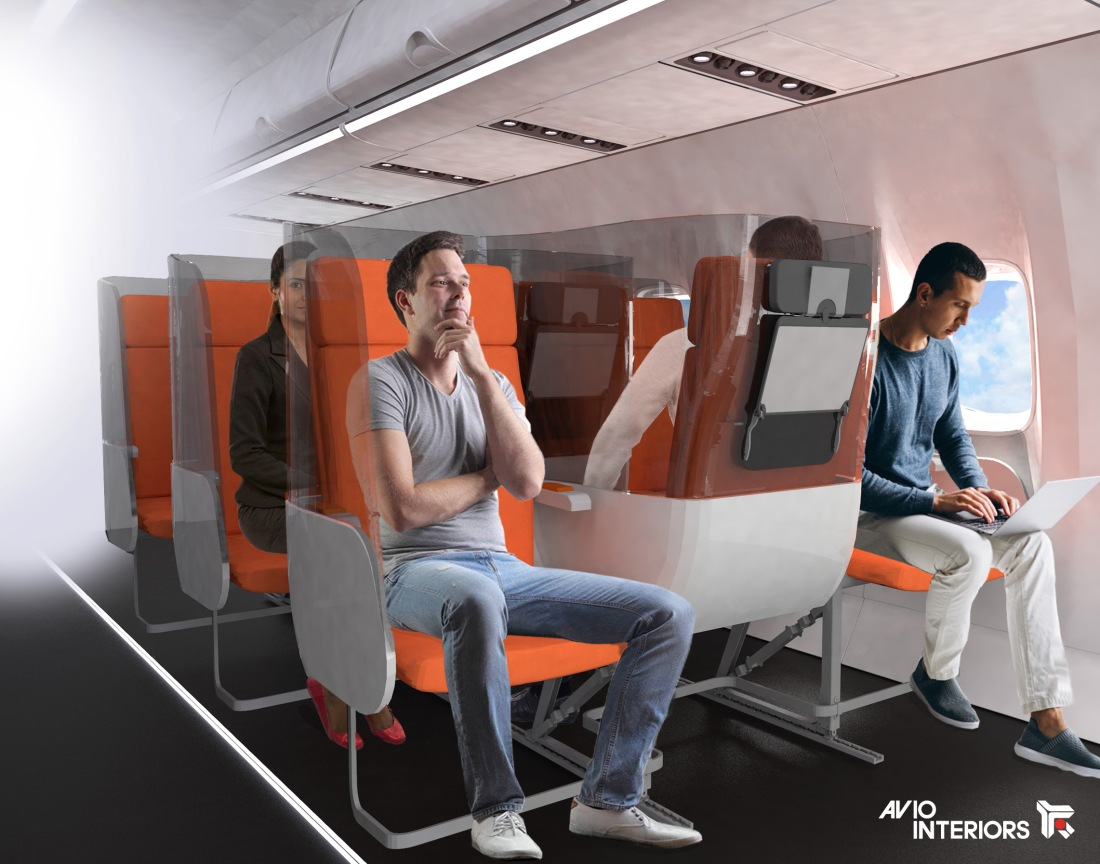 Project: Janus by Aviointeriors - the future of travel