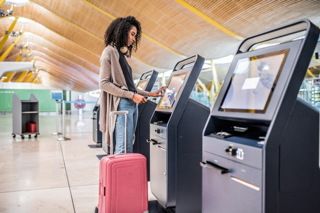 Self-check-in at the airport - the future of travel